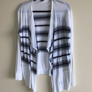 Armani Exchange A/X Small Open Cardigan Sweater